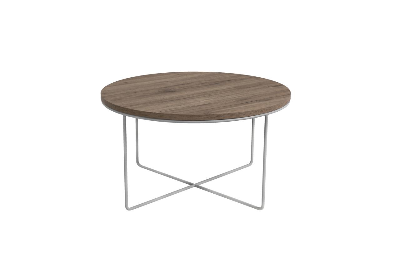 MALYS-GROUP Konferenční stolek BARI San Remo / Bílý