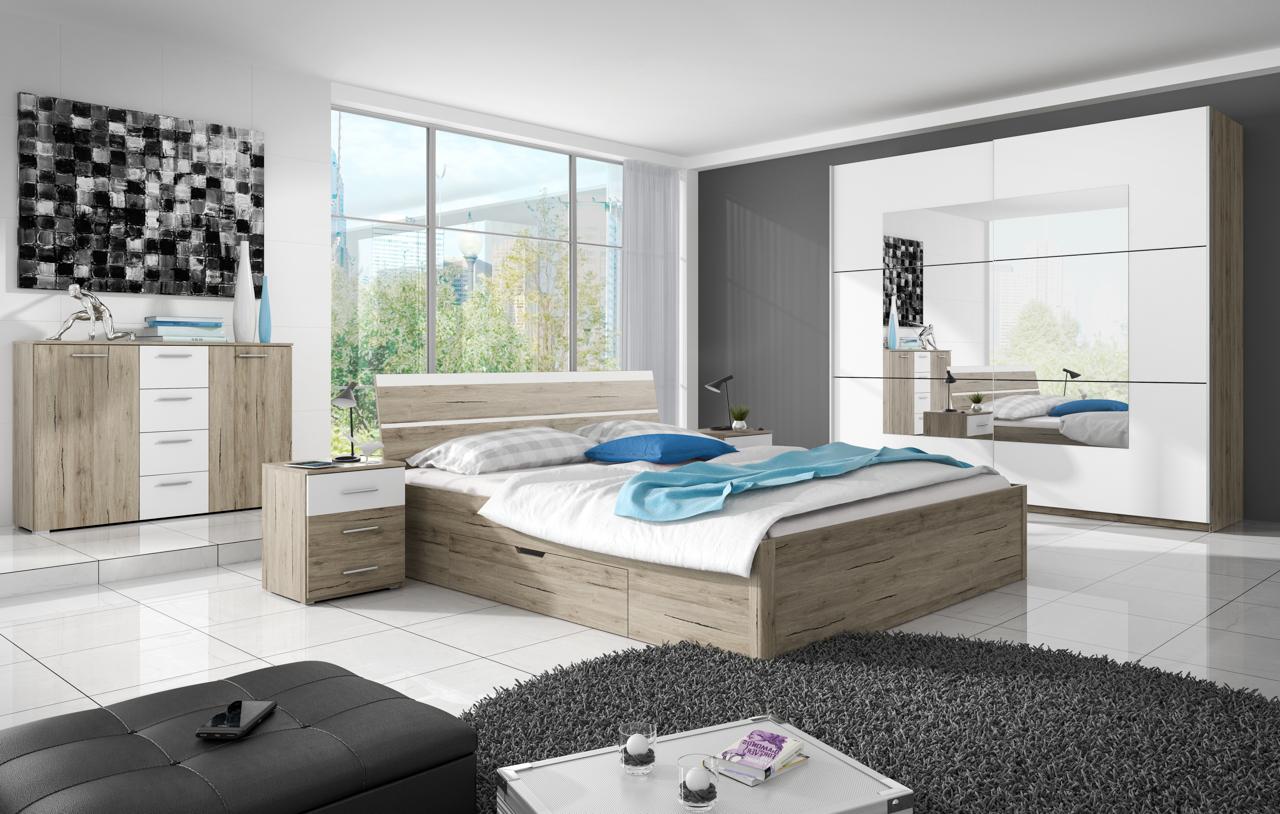 MALYS-GROUP Systémový nábytek BETA 1 San Remo / Bílý