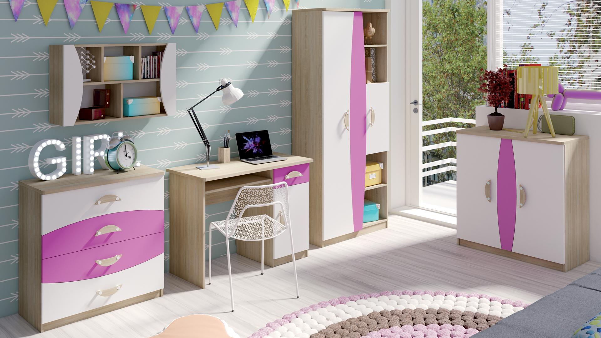 MALYS-GROUP Levný nábytek do dětského pokoje TENUS II Sestava 1