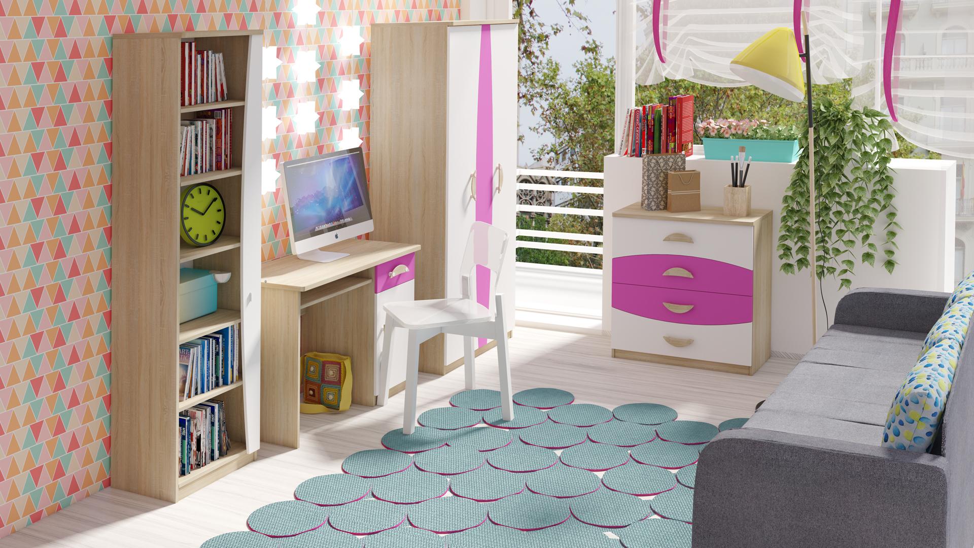 MALYS-GROUP Trendy nábytek do dětského pokoje TENUS II Sestava 2